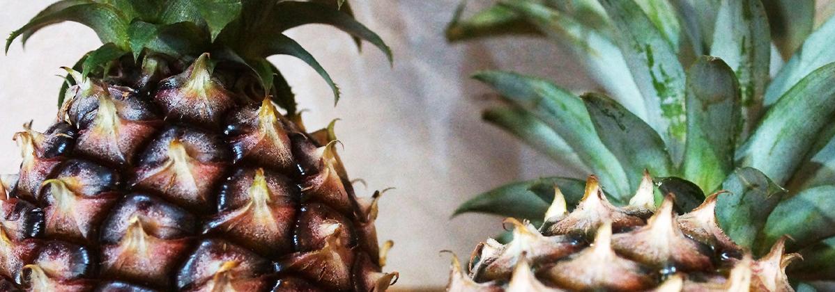 カバーパイナップル写真